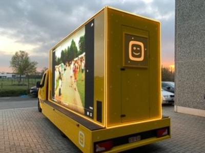 Telenet message truck – Butik Agency